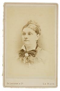 Portret van Maria Helena Pool (1825-1895)