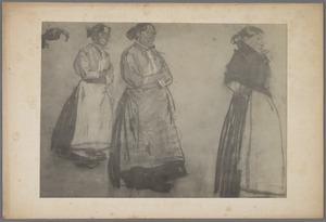 Studie van drie volksvrouwen