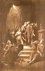 De uitstorting van de Heilige Geest