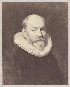 Portret van Paulus van Beresteyn (1548-1625), burgemeester van Delft, echtgenoot van Volckera Claesdr. Knobbert