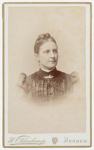 Portret van Antoinette Geertruida Verstege
