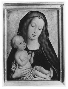 Maria met kind en vrucht