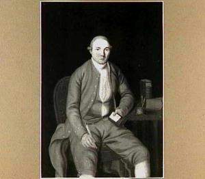 Portret van Fredericus Augustinus Hondorff Block