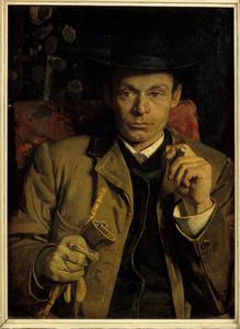 Portret van Nicolaas Meiners (24 maart 1860 - 27 februari 1921)