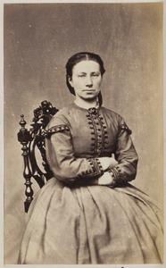 Portret van een vrouw uit familie Gunningh