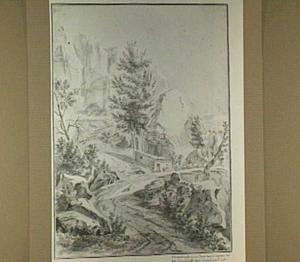 Watermolen aan de Iseron