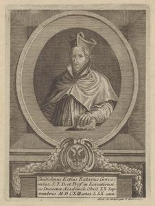 Portret van Willem Estius (1542-1613)