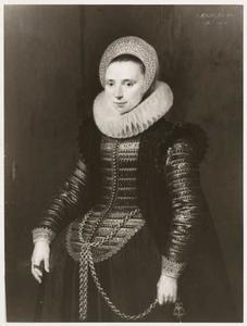 Portret van Maria Fassin ( -1653)