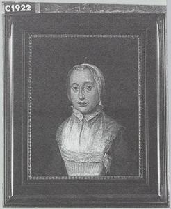 Portret van Geertrui Haaxman (1711-1790)