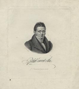 Portret van Christianus Petrus Eliza Robide van der Aa (1791-1851)