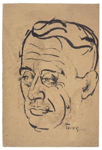 Portret van Albert Plasschaert