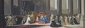 De kroning van Maria de Medici tot koningin van Frankrijk, 13 mei 1610