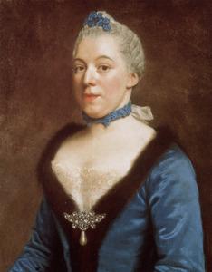Portret van Clara Magdalena Dedel (1727-1778)