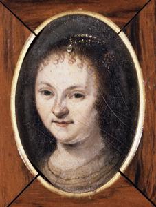 Portret van waarschijnlijk Machteld (Cornelia) Hooft