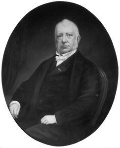 Portret van Fredric van der Oudermeulen (1797-1864)