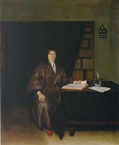 Portret van Jan van Duren (1642-1709)