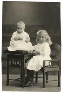 Portrt van twee kinderen, waarschijnlijk uit de familie Glondemans