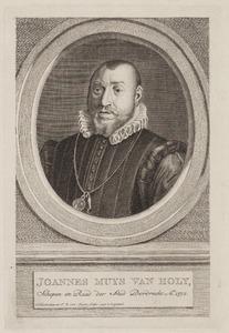 Portret van Jacob Muys van Holy (1540-1592)