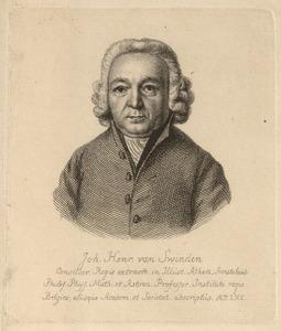Portret van Jean Henri van Swinden (1746-1823) (helft van een prent)
