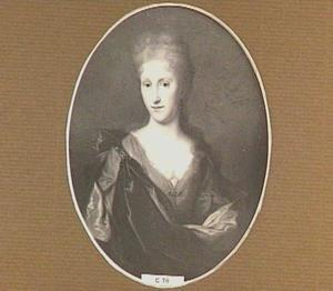 Portret van Johanna van Mewen (1682-1743), echtgenote van Johan van den Brandeler