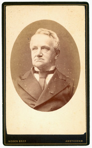 Portret van mr. Johan Fredrik Theodoor van Valkenburg (1817-1906)