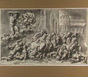 Apollo en Diana doden de zonen van Niobe (Metamorfosen 6:204-312)
