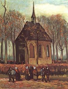 De Protestantse kerk te Nuenen