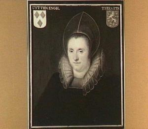 Portret van Anna Wtenengh (..-1625), echtgenote van Frederik van Zuylen van Nyevelt
