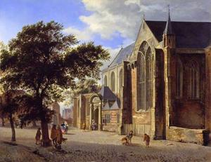 Exterieur van een kerk
