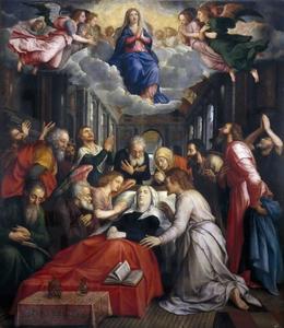 De dood en de tenhemelopneming van Maria