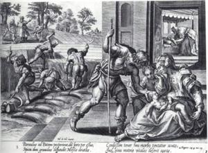 Het kind van de Sunammitische vrouw sterft; Elisa wekt hem op, nadat Gechazi dit tevergeefs heeft geprobeerd (2 Koningen 4:18-34)