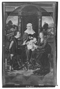 De H. Anna-te-Drieën met de H. Jozef