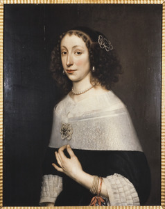 Portret van Maria de Veer (1630-1673)