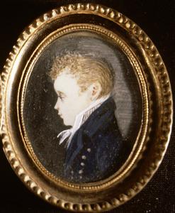 Portret van Conradus Leemans (1809-1893)