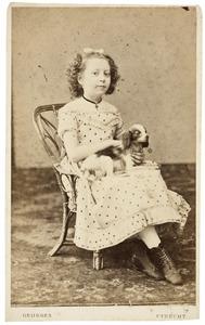 Portret van Margaretha Joanna Christina Schuller tot Peursum (1858-1871)