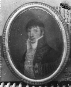Portret van Andries van Pallandt van Eerde (1781-1827)