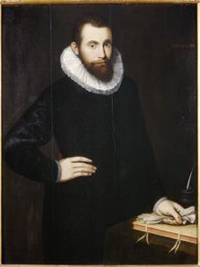 Portret van een man, mogelijk  Laurens Portman gen. van den Bergh (1562-1599)
