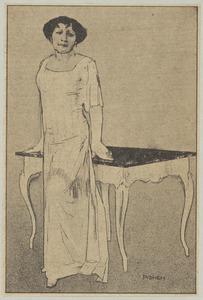 Portret van Theo Bouwmeester (1850-1939)