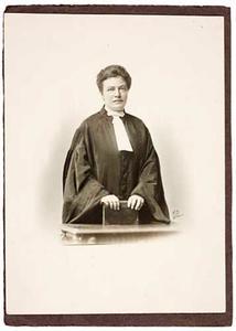 Portret van Cornelia Frida Katz (1885-1963)