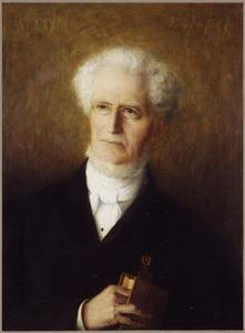 Portret van Anthony Brummelkamp (1811-1888)
