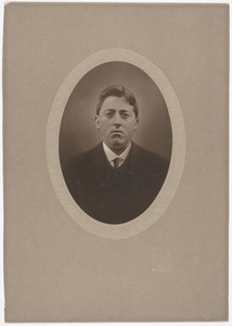 Portret van Ymte Heeg (1886-1926)