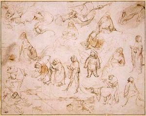 Studies voor monsters en Sint-Antonius