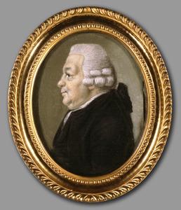 Portret van Isaac Hubert (1725-1798)
