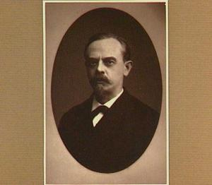 Portret van de schilder August Allebé (1838-1927)