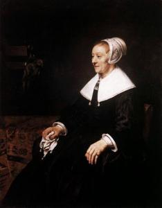 Portret van Catharina Hooghsaet (....-....)
