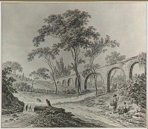 Aquaduct bij Sala in het hertogdom Parma