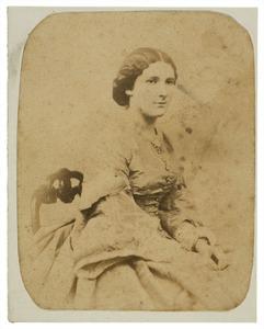 Portret van Aurelia Elisabeth Groeninx van Zoelen (1834-1886)