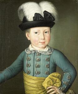 Portret van koning Willem I (1772-1843) als kind