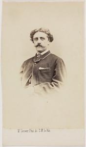 Portret van Louis Idzard Douwe baron Sirtema van Grovestins (1841-1869)