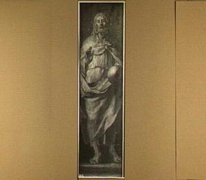 Christus met wereldbol in zijn handen
